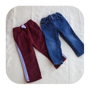 Other - 6/$15 2T Children's Place jeans & Circo pants
